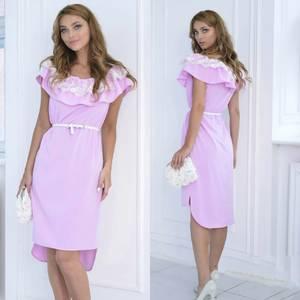 Платье короткое нарядное летнее Ф6966