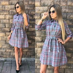 Платье короткое современное летнее У0291