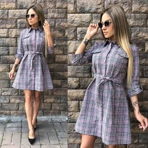 Платье короткое современное летнее У0293