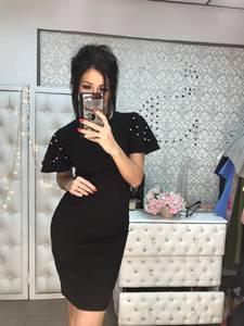 Платье короткое нарядное облегающее Ф9225