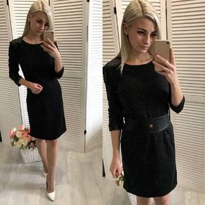 Платье  короткое коктейльное У1428