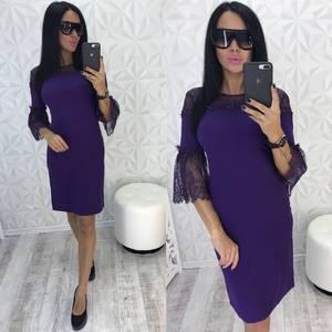 Платье короткое нарядное современное У0448