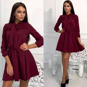 Платье короткое коктейльное современное Ф7541