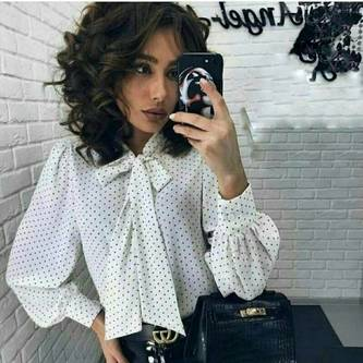 Блуза с длинным рукавом Я3286