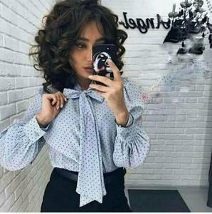 Блуза с длинным рукавом Я3287