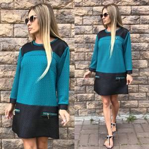 Туника теплая зимняя модная У0433