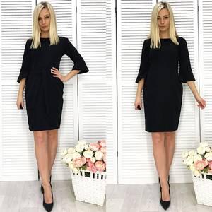 Платье короткое с рукавом 3/4 элегантное Ф2288