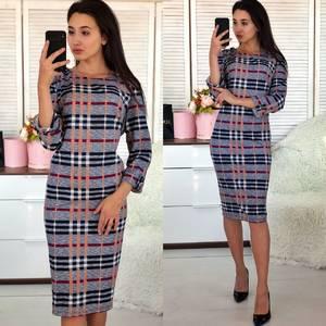 Платье короткое нарядное деловое Ф5489