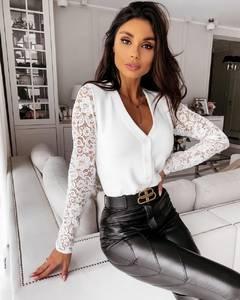 Блуза с длинным рукавом А18770