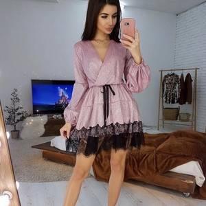 Платье короткое нарядное А10963