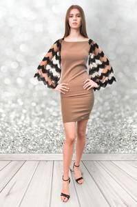 Платье короткое облегающее Ч0412