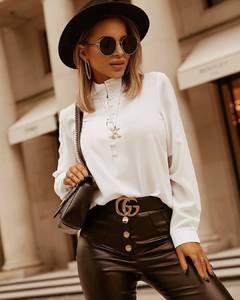 Блуза с длинным рукавом А16504