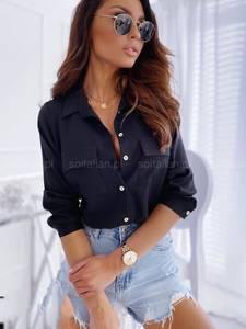 Рубашка однотонная А06980