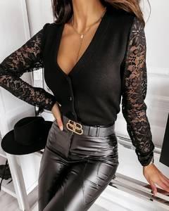 Блуза с длинным рукавом А18771