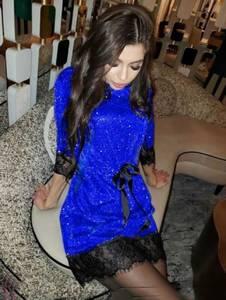 Платье короткое нарядное А10656