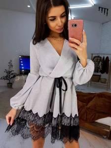 Платье короткое нарядное А10964