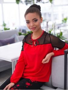 Блуза с длинным рукавом А11389