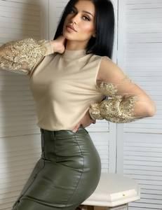 Блуза с длинным рукавом А14882