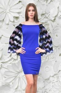 Платье короткое облегающее Ч0413