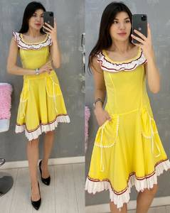 Платье короткое летнее А07130