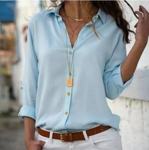 Рубашка однотонная А29700