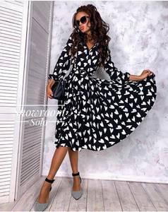 Платье длинное нарядное А09404
