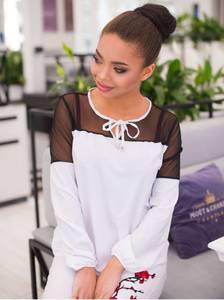 Блуза с длинным рукавом А11390