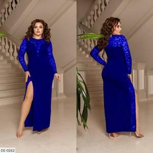 Платье длинное нарядное А13973