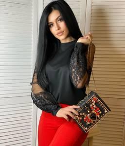 Блуза с длинным рукавом А14881