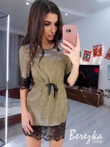 Платье короткое нарядное А10658
