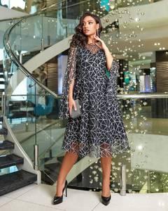 Платье короткое нарядное А20768
