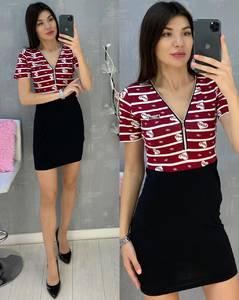 Платье короткое летнее А07150