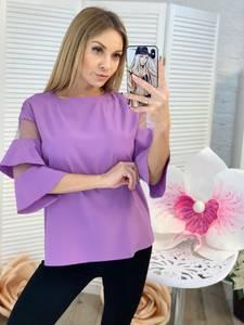 Блуза с коротким рукавом Ц2304