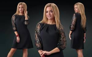 Платье короткое нарядное современное Х8835
