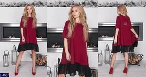 Платье короткое нарядное современное Х8725