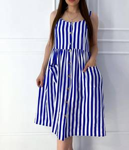 Платье короткое летнее А04964