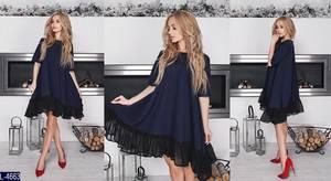 Платье короткое нарядное современное Х8727