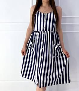Платье короткое летнее А04965