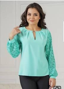 Блуза с длинным рукавом Ц2446