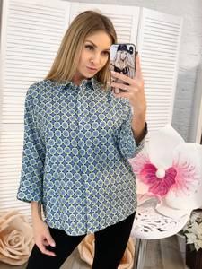 Рубашка с принтом Ц2308