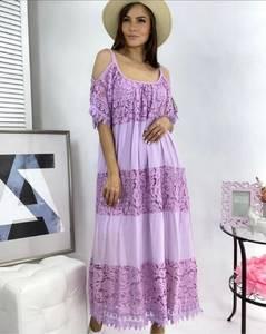 Платье длинное летнее А49774
