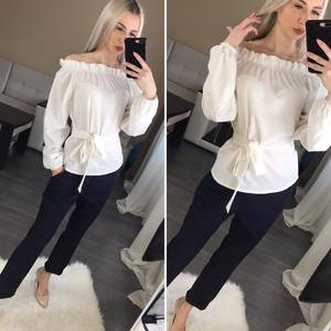 Блуза с длинным рукавом Ц0713