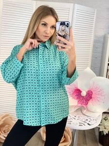 Рубашка с принтом Ц2309