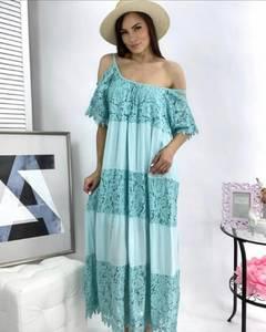 Платье длинное летнее А49775