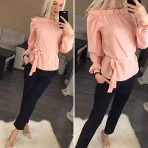 Блуза с длинным рукавом Ц0714
