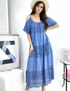 Платье длинное летнее А49776