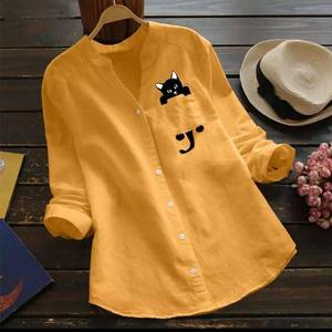 Рубашка однотонная А27442