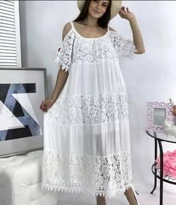 Платье длинное летнее А49777