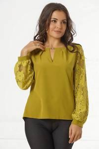 Блуза с длинным рукавом Ц2450