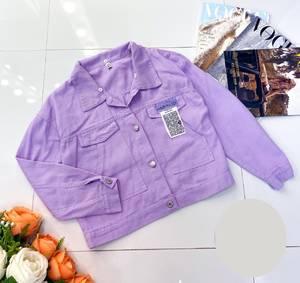 Джинсовая куртка А38513